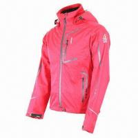 Quality Women's jacket, waterproof, breathable, 3-layer softshell fabric, fully seams taped wholesale