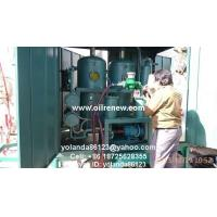 Quality Mobile Vacuum Transformer Oil Filter Plant   On Site Dielectric Oil Treatment Unit ZYD wholesale