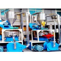 Quality ABS Plastic Powder Making Machine , Automatic Plastic Cutter Grinder75kw wholesale