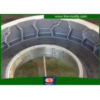 Buy cheap OEM / ODM Pneumatic Tire Mold Q345 Aluminum Two Piece Radial Tyre Mold from wholesalers