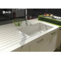 Quality Calacatta Pattern White Quartz Countertops That Look Like Marble For Kitchen wholesale