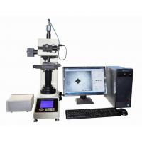 China Computerized Automatic Vickers Hardness Tester With Motorized X-Y Anvil / Vickers Software on sale