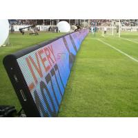 China Outdoor Mobile LED Screens RGB Perimeter Advertising LED Display For Soccer Field on sale