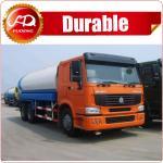 2016 hot sale high quality 19000L 6x4 STR 5000 gallon water tank truck