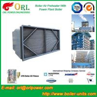 Buy cheap Steam Coil CFB Boiler APH , Tubular Type Air Preheater Natural Circulation from wholesalers