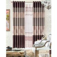 China Custom Polyester Lace Home Textile Products Insulated Blackout Window Curtain on sale