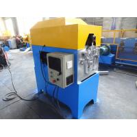 Quality Electric Downspout Roll Forming Machine , 2.2KW Motor Powered Downspout Elbow Machine wholesale