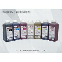 China Phaeton Eco Solvent Large Format Ink High Fluidity Long Lasting Color on sale