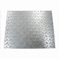 Quality Checkered Plate with 0.5 to 5.0mm Thicknesses wholesale