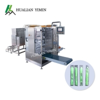 China 100ml Four Side Seal Tomato Paste Packing Machine Fully Automatic on sale