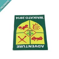 China Custom high quality woven labels for clothing on sale