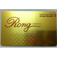 Cheap factory price popular business metal card for sale