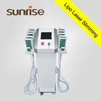 China Beijing sunrise Unique patented design in China!Slimming skin tighten lipolaser machine on sale