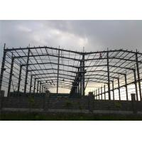 Quality Q345 Steel Structure Workshop Fabrication For Mechanical Manufacture wholesale