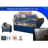 Quality 18.5kw Power Container House Shelf Panel Roll Forming Machinery 1250mm Coil Width wholesale