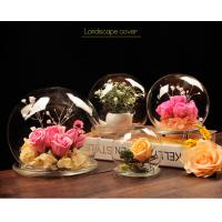 Quality BA (9) home docor clear acrylic spheres cover wholesale