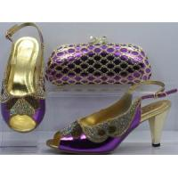 Cheap Beatiful Women Shoes and Bag Set for sale