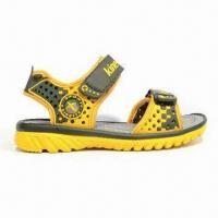 Quality Children's Sandals with High Quality PU Upper, PU Outsole and Mesh Lining wholesale