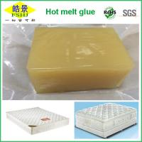 Quality Yellow Non - Transparent Hot Melt Adhesive Block High Stickiness For Mattress wholesale