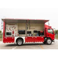 Quality Red Color Commercial Fire Trucks 3D Animation Simulate 119 Alarm Software wholesale