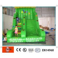 Quality Green Environmental Inflatable Dry Slides for child Playground water games wholesale