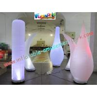 Quality Inflatable Led Color Changing Lighting Decoration Pillar wholesale