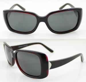 Quality Fashion Acetate Frame Sunglasses , Lady Polarized Sunglasses wholesale