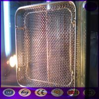 Buy cheap Sterilization Stainless Steel Wire Mesh Tray and Basket PRICE product