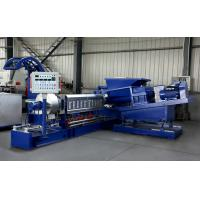 CE ISO Certificated Single Screw Extruder Machine For Making PP PE PET PPR Granules