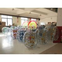Quality 1.50M PVC/TPU Inflatable Roll Inside Soccer Bumper Bubble Ball Knocker Ball Entertainment Game wholesale