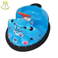 China Hansel  china theme park toys kids electric bumper car electric bike with remote control on sale