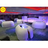 Quality Customized Inflatable Structure Inflatable Office Pod Tent Mini Lighting For Decoration wholesale