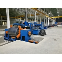 Quality Standard cut to length line , hot rolled mild steel light pole machine for 6m 8m 14m wholesale