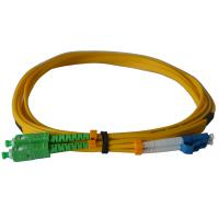 Quality Duplex SC/APC Fiber Optic Patch Cables SM For Telecom Networks RoHS Compliant wholesale