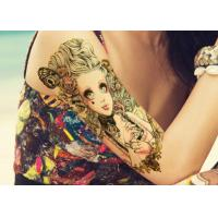 Quality Water Transfer Temporary Body Tattoo Stickers , Temporary Tattoo Sheets wholesale
