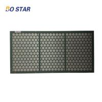 Quality China Supplier API Durable NOV Steel Framed Shale Shaker Screen for Mud Drilling Fluids and Solid Control wholesale