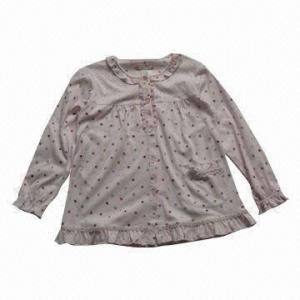 China Women's Pajama, Silk Material Used on sale