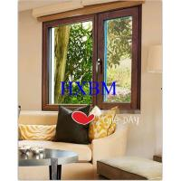 China Oak Tilt Turn Wood Replacement Windows , Wooden Double Glazed Windows Customized  for Thailand market on sale