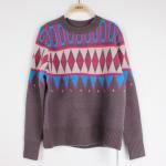 Quality Casuel Jacquard Sweaters For Women Aran Christmas Knit Jumper  Knit Pattern wholesale