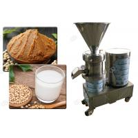 Quality Small Scale Wet Soybean Grinding Machine , Soya Milk Making Machine Stainless Steel wholesale