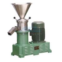 Quality Sanitary food grinding machine stainless steel colloid mill peanut butter sesame paste colloid mill wholesale