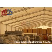 Buy cheap Weatherproof Grown Marquee Party Tent With Different Colors Capacity 50 People from wholesalers