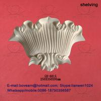 Quality Surface crack lacquer sea shell type pu wall lamp box / pu decorations wholesale