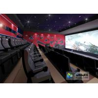 Quality Wonderful Viewing Experience 4D Theater Equipment Seamless Compatibility With Hollywood Movies wholesale