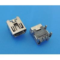 China 5pf 4pin Long Pin Micro USB Connector High Temperature Fast Transfer For Computer Machine on sale