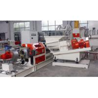 EVA Foam Master Batch Pvc Pelletizing Machine Single Screw Low Energy Consumption