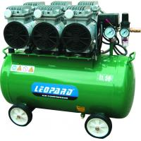 China High Performance Oil Free Air Compressor , Electric Driven Air Compressor 3HP 115psi on sale
