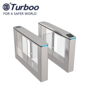 Quality Wide Lane Turnstile 1100mm 30w SUS304 Swing Barrier Gate RFID Card for Handicap wholesale