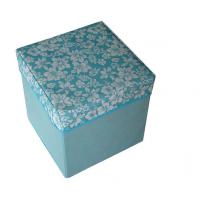 Quality Customized blue eco - friendly storage box bag foldable chair for colleting stuff wholesale