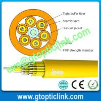 China SM 24 core Vertical Building Fiber Optic Breakout Cable on sale